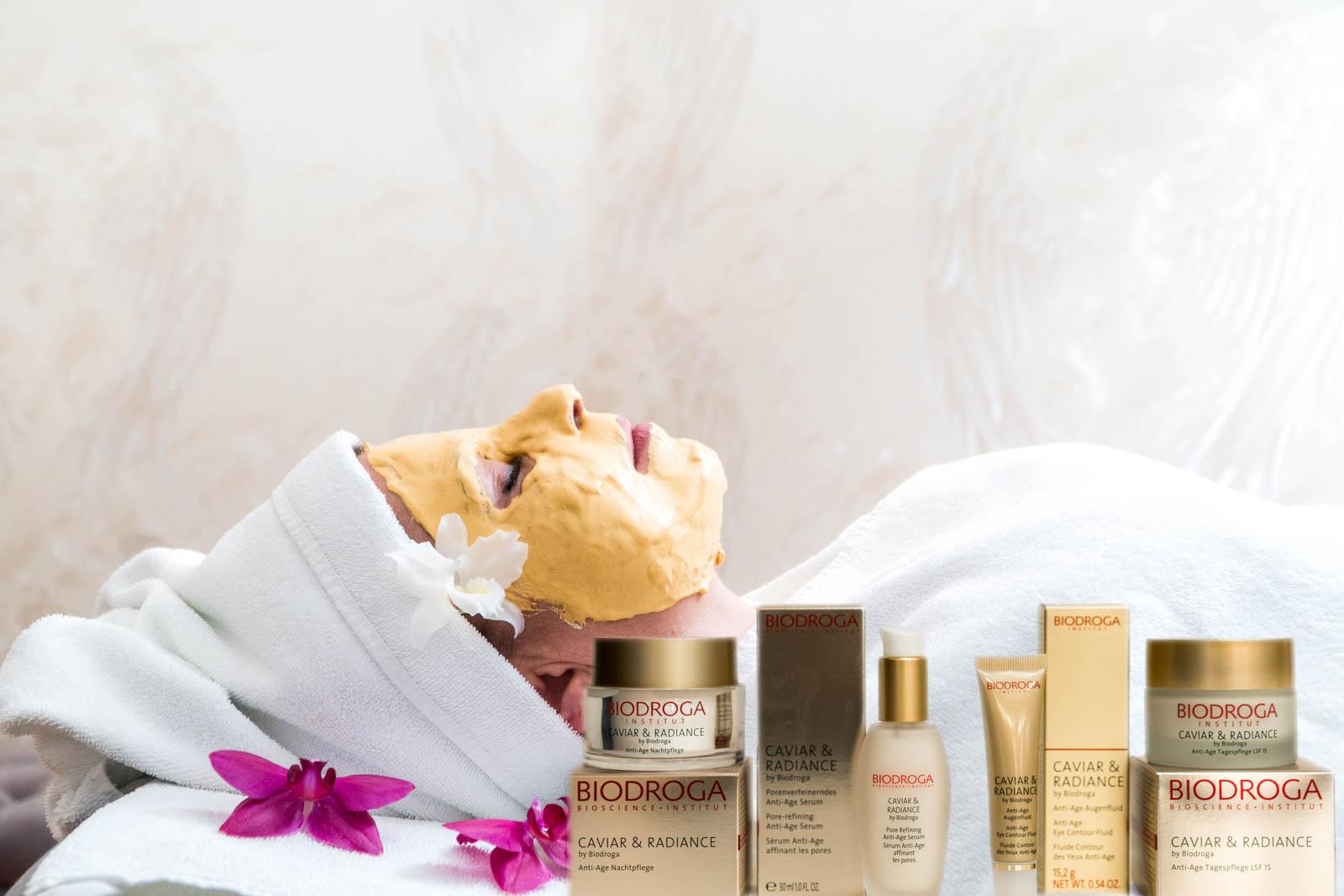 Redröh Beauty & Care professional Kosmetikstudio in München bietet Gesichtsmaske