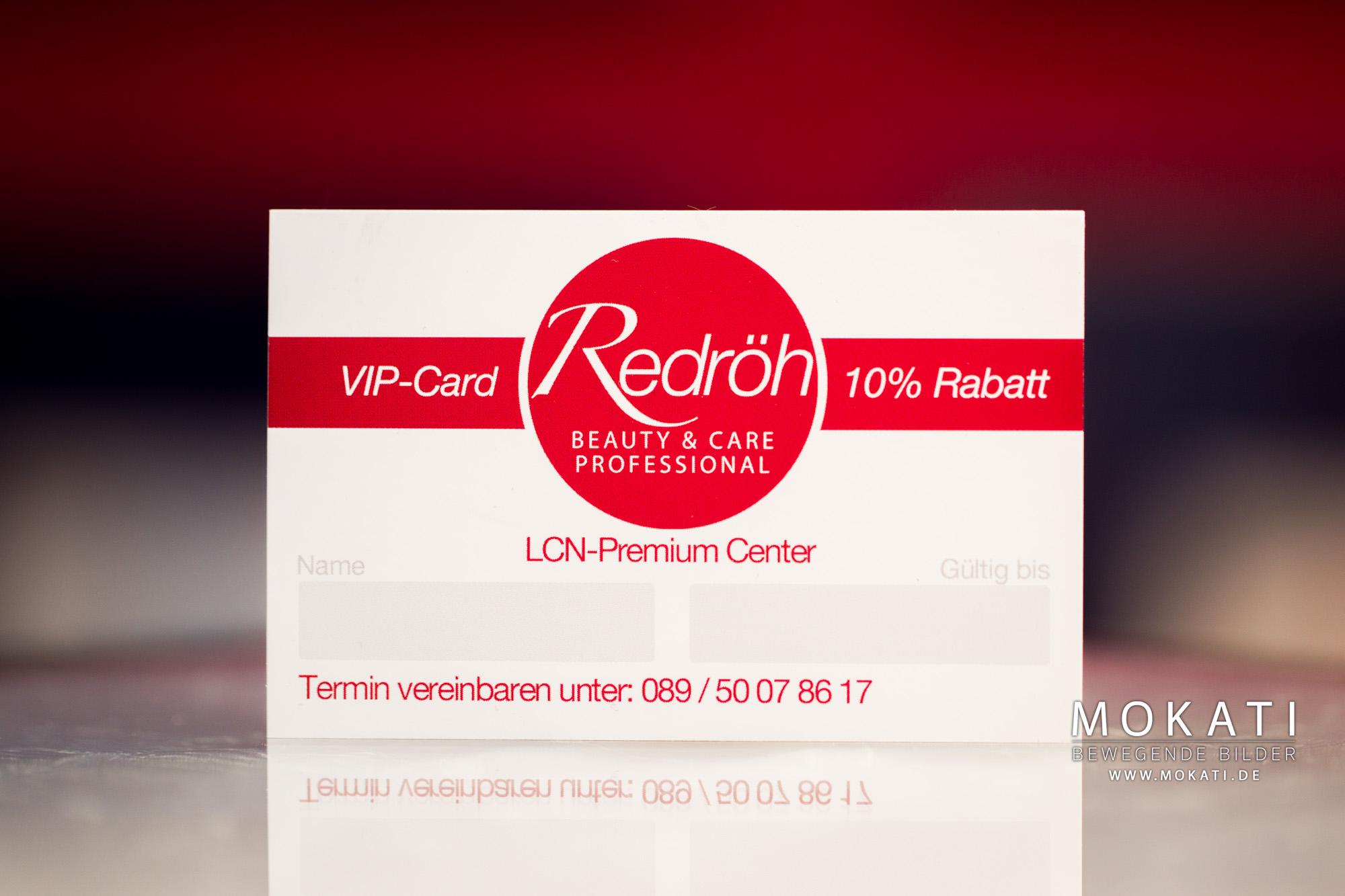 Redröh Beauty & Care professional Kundenkarte für 10% Rabatt