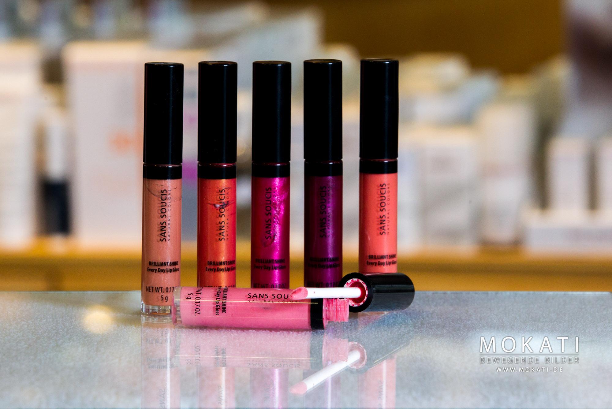 Redröh Kosmetikstudio Lipgloss Aktion von Sans Soucis