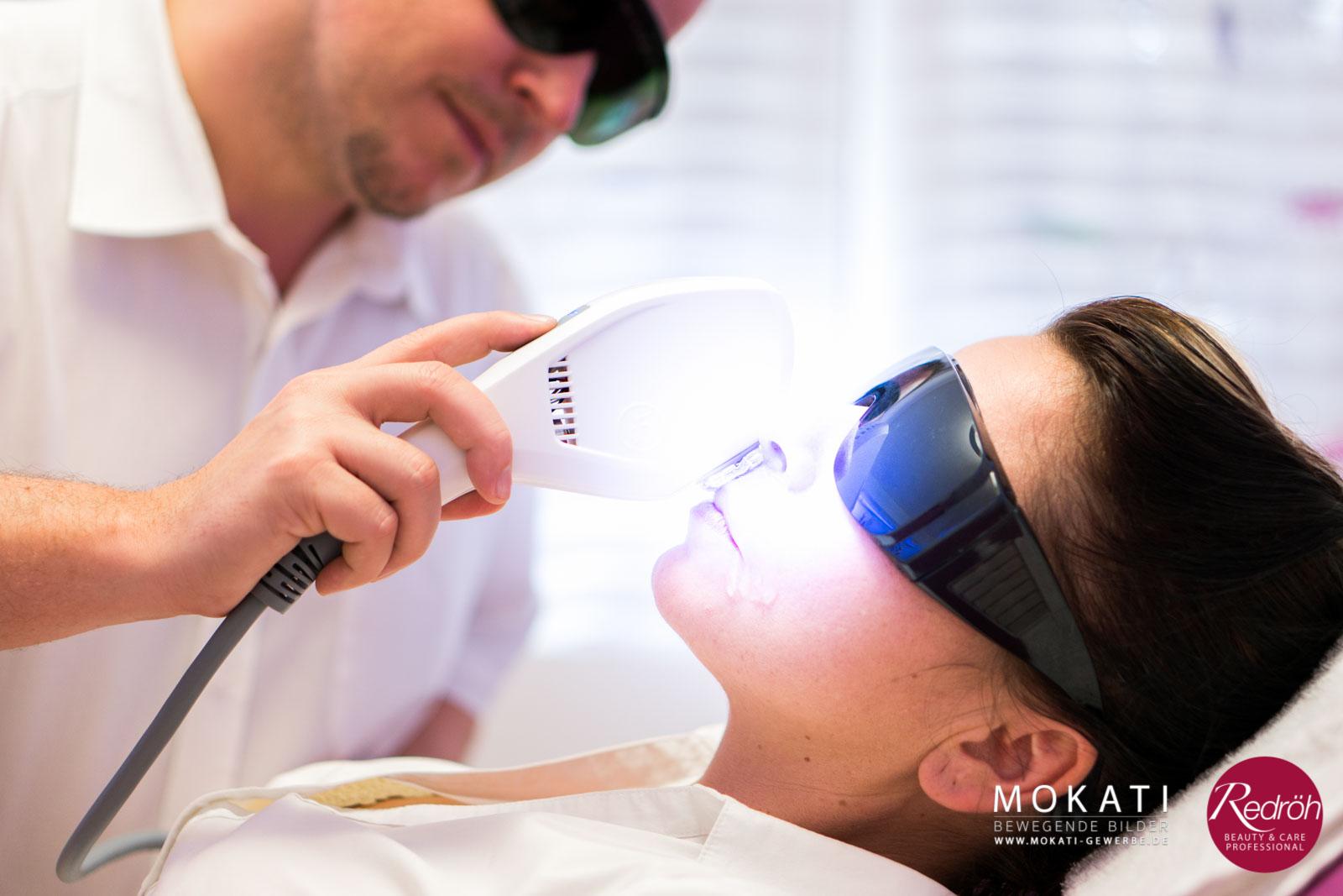 dauerhafte Haarentfernung per Laser von MeDioStar Next